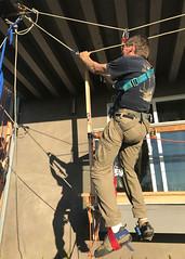 008 James Levitates (saschmitz_earthlink_net) Tags: 2018 california southerncaliforniagrotto christmasparty losangelescounty baldwinhills windsorhills party climbing practice