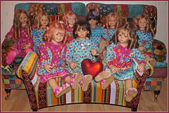 Ein 💗💗💗 herzliches 💗💗💗 Dankeschön ... (Kindergartenkinder 2018) Tags: 2019 neujahr kindergartenkinder annemoni bellis jinka kindra margie milina sanrike setina tivi