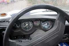 1978 Tatra T613 'Chromka', dashboard (Davydutchy) Tags: tatra 613 t613 chromka czech czechoslovakia czechrepublic v8 rear engine heckmotor aircooled luchtgekoeld luftgekühlt vzduchemchlazené vzduch auto automobiel automobile vehicle car voiture pkw bil vůz автомобиль youngtimer classic oldtimer klassiker interieur interior inside stuur steer steering wheel lenkrad dashboard gauge january 2019