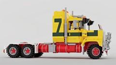 Mack Superliner Rework (John D O'Shea) Tags: lego mack superliner truck australia moc