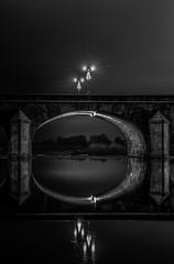 Pont régemortes (JG Photographies) Tags: france french auvergne allier moulins pont régemortes rivière noiretblanc jgphotographies canon7dmarkii reflet