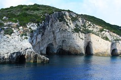 Blue Caves / Сините пещери (mitko_denev) Tags: ζάκυνθοσ ιονίων νήσων ελλάδα greece ionian islands zakynthos griechenland гърция йонийски острови закинтос zante занте sea mediterranean йонийско море средиземноморие see meer magic landscape seascape caves rocks пейзаж пещери скали theflowerofthelevant