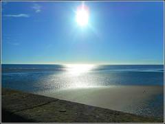 Early Morning Sun .. (** Janets Photos **) Tags: uk eastyorkshire bridlington earlysunshine bays beaches