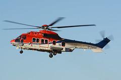 G-OAGA Eurocopter EC225LP EGPD 23-12-14 (MarkP51) Tags: aberdeen dyce airport abz egpd scotland helicopter airliner aircraft airplane plane image markp51 nikon d7100