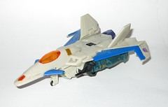thunderwing transformers generations deluxe class 2010 hasbro l (tjparkside) Tags: thunderwing transformers generations 2010 transformer deluxe class hasbro robot robots decepticon decepticons pretender g1 g 1 one generation character comic comics marvel missile missiles cannon cannons rocket projectile launcher launchers futuristic space jet plane aircraft drone nose canopy fin fins wing wings