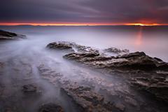 Ashes of the Dawn (johnkaysleftleg) Tags: howick sunrise longexposure le dawn rocks northeast england northumberland northumberlandcoast northumbria canon760d sigma1020mmf456exdchsm nd3 10stopfilter ndhardgrad06