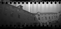 Esperantoplatsen (rotabaga) Tags: sverige sweden svartvitt sprocket göteborg gothenburg lomo lomography tmax3200 diy expiredfilm