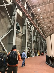20181101_174632588_iOS (sano_rio) Tags: interior bracing jorge rio east wall moment frames lights ceiling turbines