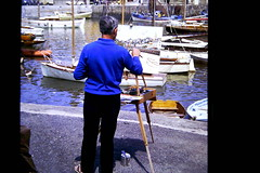 An artist in rural France (rossendale2016) Tags: blue destination resort holiday urban french france scenery bright vibrant cool member flickr photo imaging replica copy depiction accurate spread spreading mixing mix tube palette knife chalk pastel dock wooden angler perfection perfect fantastic quayside quay fishing yachts rowing sketched sketch pencil wipes cleaning water brushes brush image picture lofe true clean picturesque photogenic colourful colorful colour color acrylic paint oil pedestal waterfront easel boats harbour port francaise artist