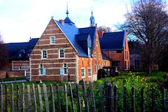 Vijvers Abdij van Park, Belgium (SLAva PhotoArt) Tags: white swan abbey flanders vijvers abdij van park belgium