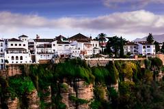 Ronda, Málaga (fcojavier1991) Tags: ronda málaga andalucía españa spain sky skyline clouds town city cielo views vistas beautiful beauty nikon nikond3300 50mm nikkor50mm paisaje