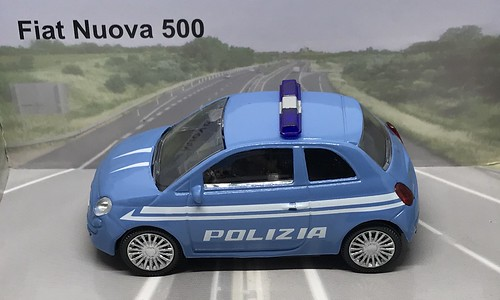 Mondo Motors Fiat Fiat Nuovo 500 Polizia Italian Police Car