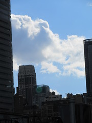 2018 November Earlier Afternoon Light Again NYC 4582 (Brechtbug) Tags: 2018 november afternoon light again virtual clock tower from hells kitchen clinton near times square broadway nyc 11102018 new york city midtown manhattan fall autumn weather building breezy cloud hell s nemo southern view