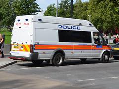 BU12 AOT (Emergency_Vehicles) Tags: bu12aot metropolitan police fqm