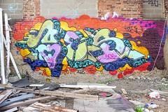 Yes2 (soulroach) Tags: brooklyn ny nyc graffiti yes2 tm7 imok wmd