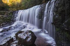 SgwdIsafClungwynAutumnEvening_2018_10_20_1475 (Sam Waddy) Tags: brecon wales light landscape d800 pce tiltshift waterfalls water rocks autumn