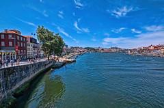 Estuario del río Duero, Porto (Portugal) (Miguelanxo57) Tags: río duero agua cielo porto vilanovadegaia portugal
