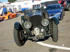 Blower (BenGPhotos) Tags: 2018 brscc formula ford festival brands hatch classic vintage british luxury sports performance car green 1930 bentley 45 412 litre blower harrison saloon uw7771 kl3589