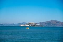 Private Castle (Dominic Sagar) Tags: amy arlen boat felsen friends sanfrancisco alcatraz bay prison sea water california unitedstates us