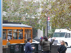 San Francisco, CA Muni F Line (army.arch) Tags: sanfrancisco california ca muni sfmta fline streetcar trolley