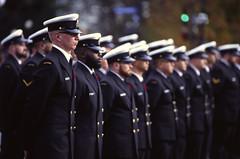 Sailors in a Row (tyson_laidler) Tags: ektachrome e100 35mm kodak remembrance day 2018 slide film canon eos3