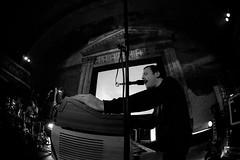 Klaus Johann Grobe @ UT Connewitz 16.11.2018 (Jan Rillich) Tags: janrillich ut utconnewitz utconnewitzev 16112018 konzert concert transcenturyupdateno3 transcenturyupdate 2018 leipzig live onstage rillich photo foto picture photography fotografie musica music eos digital musik band group gig alternative underground szene theatre heinzestrasse image old cinema kino theater connewitz south süden canon 5dmarkiii 5d sigma 0911 blackwhite schwarzweiss bw klausjohanngrobe melancholie kraut jazzrock disco sigmafisheyedg15mmf28 sigma15mmf28exdgdiagonalfisheye wideangle weitwinkel fisheye fischauge