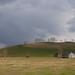 Soir d'orage sur le Benou