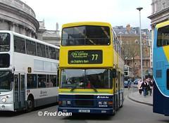 Dublin Bus RA289 (96D289). (Fred Dean Jnr) Tags: april2005 dublin dublinbus busathacliath dublinbusyellowbluelivery volvo olympian alexander r collegegreendublin dublinbusroute77 ra289 96d289 n607jno