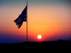 Antiparos Sunset (dimaruss34) Tags: newyork brooklyn dmitriyfomenko image greece antiparos sky sunset flag cross