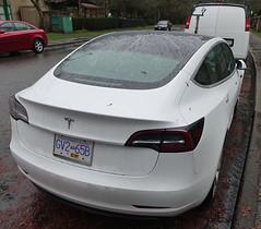 2018 Tesla Model 3 (D70) Tags: 2018 tesla model 3 model3 indianriver northvancouverdistrict britishcolumbia canada rain drops