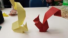 My folds from CDO Tirrenia/ Squirrel by Viviane Berty (esli24) Tags: cdo2018tirreniapisa