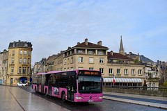 Metz - Mercedes-Benz Citaro G - 27/11/18 (Jérémy P.) Tags: articulé transports bus citaro mercedes mercedesbenz grandest lorraine moselle metz citarog