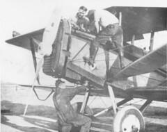 air mail collection image (San Diego Air & Space Museum Archives) Tags: airmaildh4 usairmail airmail aviation aircraft airplane biplane dehavilland dehavillanddh4 dh4 libertyengine libertyl12 liberty12 aircraftmaintenance cheyenne cheyennewyoming cheyennewy