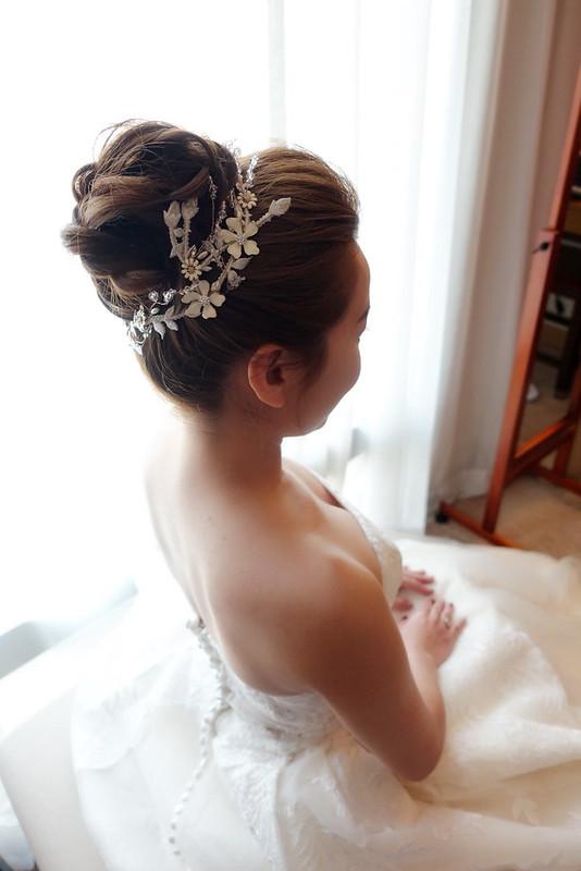 婚禮造型 語涵 新娘秘書@台北新莊典華婚宴會館