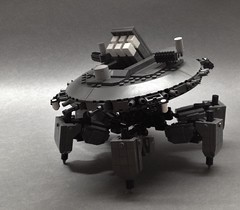 SAMs in position! (Dryvvall) Tags: lego mech spider hexapod walker drone robot