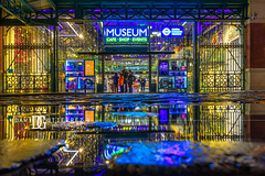 London Transport Museum - London, UK (davidgutierrez.co.uk) Tags: london photography davidgutierrezphotography city art architecture nikond810 nikon urban travel color night blue photographer tokyo paris bilbao hongkong christmas uk xmas red neon londonphotographer building street colors colours colour europe beautiful cityscape davidgutierrez structure d810 contemporary arts architectural design buildings centrallondon england unitedkingdom 伦敦 londyn ロンドン 런던 лондон londres londra capital britain greatbritain tamronsp2470mmf28divcusdg2 2470mm tamron streets streetphotography tamronsp2470mmf28divcusd tamron2470mm vibrant edgy vivid people christmaslights merrychristmas merryxmas festive coventgarden santa londontransportmuseum ltmuseum reflection puddle rain