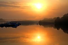 DSCF7642 (Peter Ghita) Tags: lake reflections sunrise marine stockholm fujifilmxt1 fujinonxf1855mmf284rlmois september