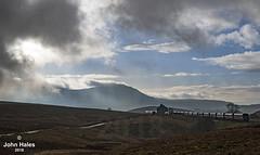 66763 at Blea Moor on 19 Dec 18 (John_Hales) Tags: ribblehead preston rail railway train trains settle carlisle class66 gbrf locomotive bleamoor networkrail cumbria