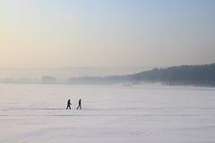 Walking through winter (man_from_siberia) Tags: winter january 2019 day haze frost cold people walking siberia canon eos 200d dslr canoneos200d canon200d canonrebelsl2 tamron tamronspaf1750mmf28xrdiiild tamron1750mmf28 russia россия сибирь