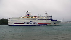 18 11 03 BF Bretagne (14) (pghcork) Tags: brittanyferries bretagne ferry ferries carferry cruiseferry cork corkharbour cobh ships shipping ship ireland 2018