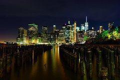 View of lower Manhattan, the Financial District - Sony A7R III (SnyderPix) Tags: brooklyn brooklynbridgepark nyc cityscape landscape newyork newyorkcity sony alpha sonyalpha longexposure ny water color lights buildings sky tall skyscrapers skyscraper sonya7r3 sonya7riii a7r3 a7riii sonymirrorless mirrorless sonycamera bealpha