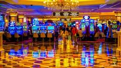 Golden dreams (@manylaughs) Tags: manylaughs casino gold golden reflection wheredreamsgotodie venetian lasvegas vegas