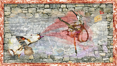 Background of stone wall texture (kickassnews4u) Tags: wall stone background texture brick old pattern architecture rock structure surface concrete construction abstract cement textured block rough material built backgrounds modern backdrop stonewall solid brickwork decorative grunge italy
