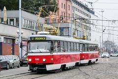 BRN_1583_201811 (Tram Photos) Tags: ckd tatra t3p brno brünn strasenbahn tram tramway tramvaj tramwaj mhd šalina dopravnípodnikměstabrna dpmb t3