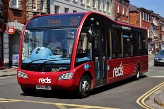 Salisbury Reds: 3824 / HF64 BNU