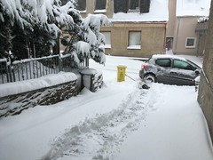 Schneefall 8-9.1.2019 Erzgebirge (weltenforschererzgebirge) Tags: schneefall erzgebirge schnee 2019 januar schneebruch annaberg winter