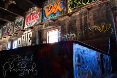 Echo Lake Incinerator 1.27.19.12 (jrbeckwith) Tags: echolakeincinerator 2019 photo picture jr beckwith jbeckr fortworth texas tx echo lake incinerator endangered danger old history historic abandoned left decay drug drugdealer graffiti girls shoot ruins
