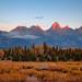 Sunrise, Grand Tetons