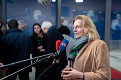 Karin Kneissl beim Rat für Auswärtige Beziehungen / Entwicklung