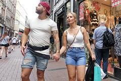 Amsterdam, Kalverstraat (theo_vermeulen) Tags: amsterdam kalverstraat candid couples tattoo street people shopping